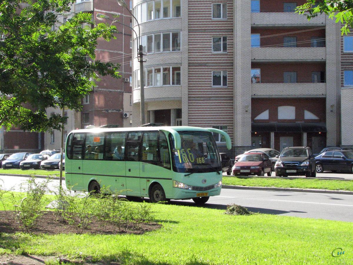 Санкт-Петербург. Yutong ZK6737D вв650