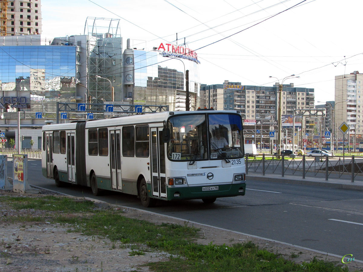 Санкт-Петербург. ЛиАЗ-6212.00 в032ау
