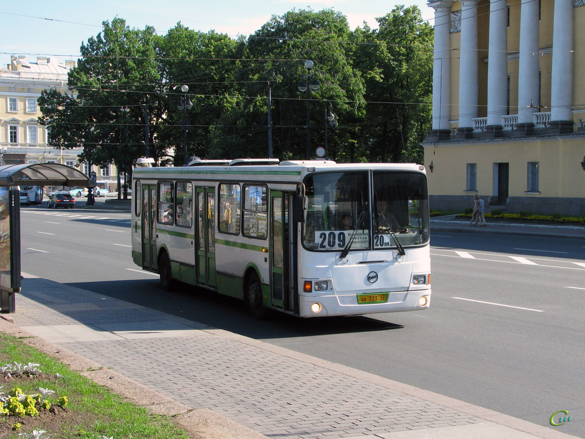 Санкт-Петербург. ЛиАЗ-5256.26 ав323