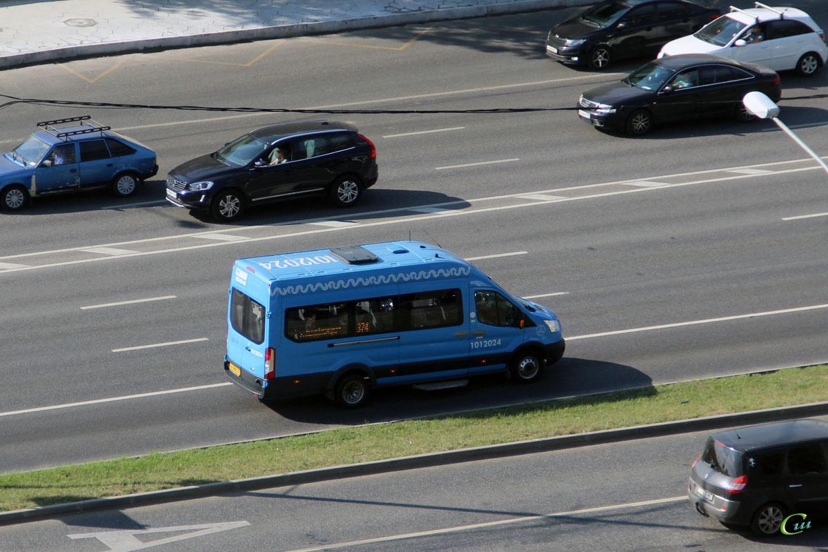 Москва. Sollers Bus (Ford Transit FBD) ху899