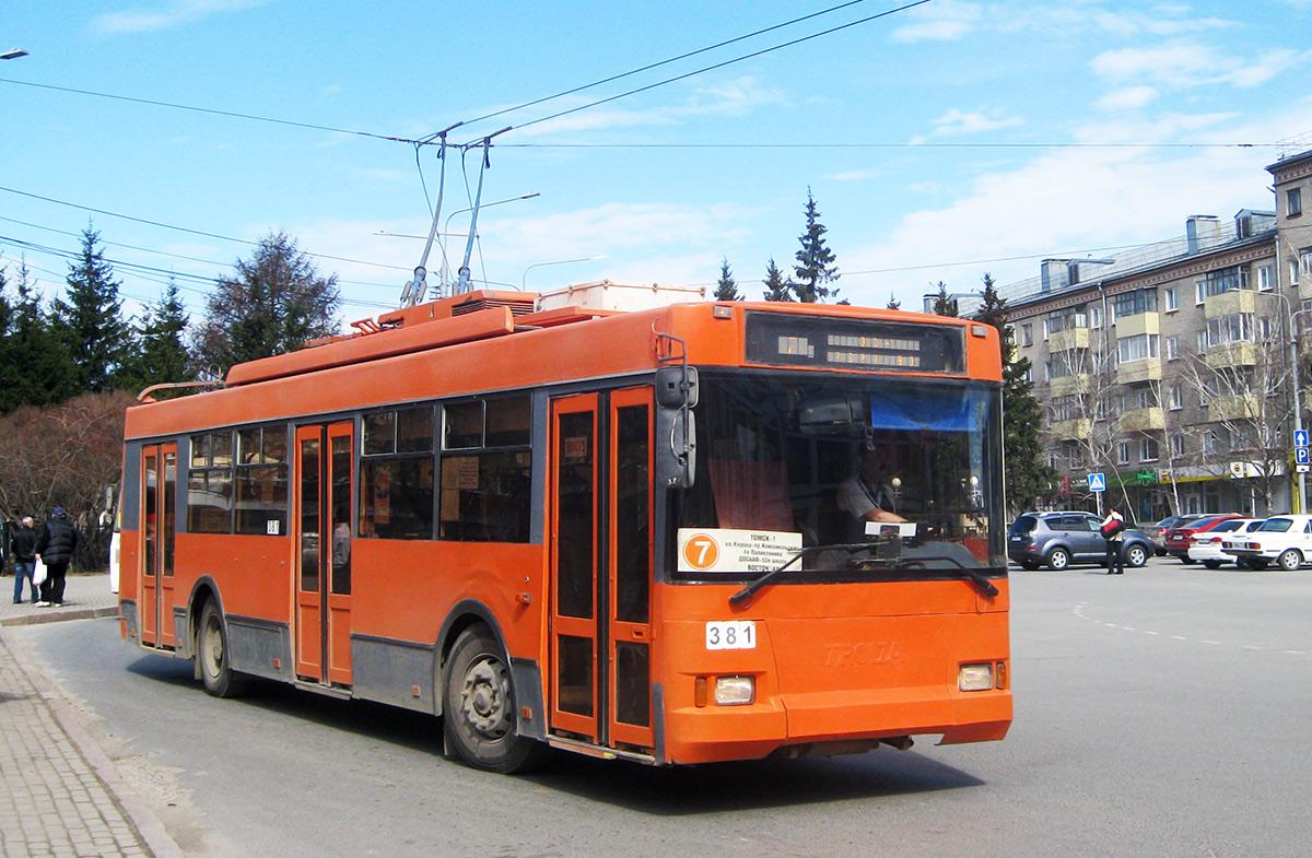 Томск. ТролЗа-5275.05 Оптима №381
