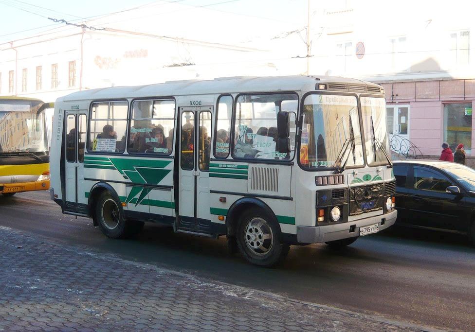Томск. ПАЗ-32054 в795уу