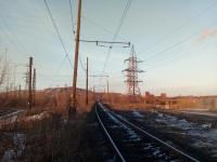 Магнитогорск. Вид в сторону станции Мост