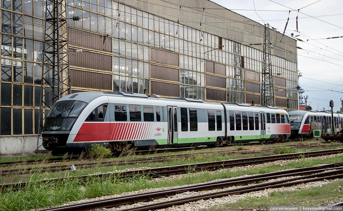 Варна. Siemens Desiro Classic-10 031.6