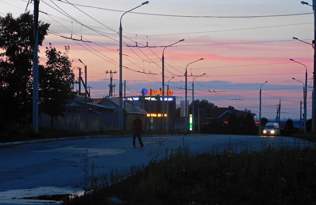 Калуга. Территория бывшей диспетчерской маршрута № 18, использовавшейся с момента запуска маршрута 22 ноября 2008 года до 1 декабря 2015 года