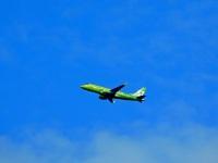 Калуга. Самолёт Embraer ERJ-170S VQ BYA авиакомпании S7 Airlines рейсом S76008 Калуга - Санкт-Петербург