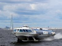 Санкт-Петербург. Пассажирский теплоход на подводных крыльях Метеор-171