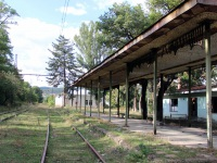 Хашури. Заброшенная станция Сурами