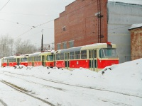 Екатеринбург. Tatra T3 (двухдверная) №077, Tatra T3 (двухдверная) №068, Tatra T3 (двухдверная) №067