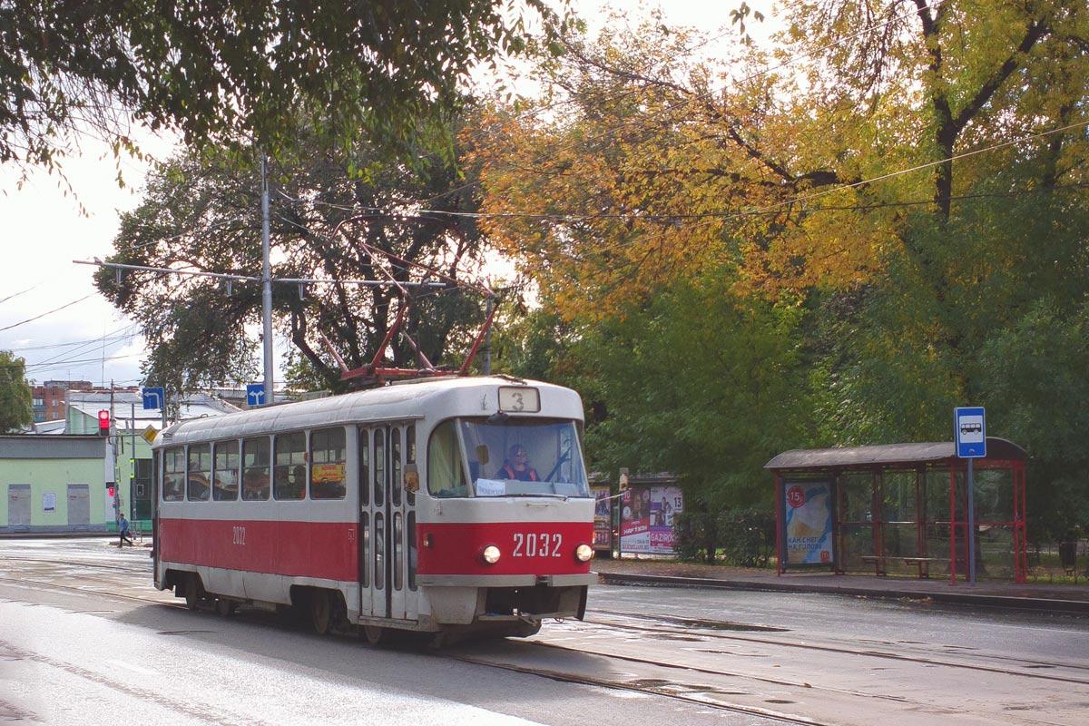 Самара. Tatra T3 (двухдверная) №2032
