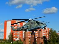 Воротынск. Вертолёт-памятник Ми-24В — «Крокодил» 1982 г