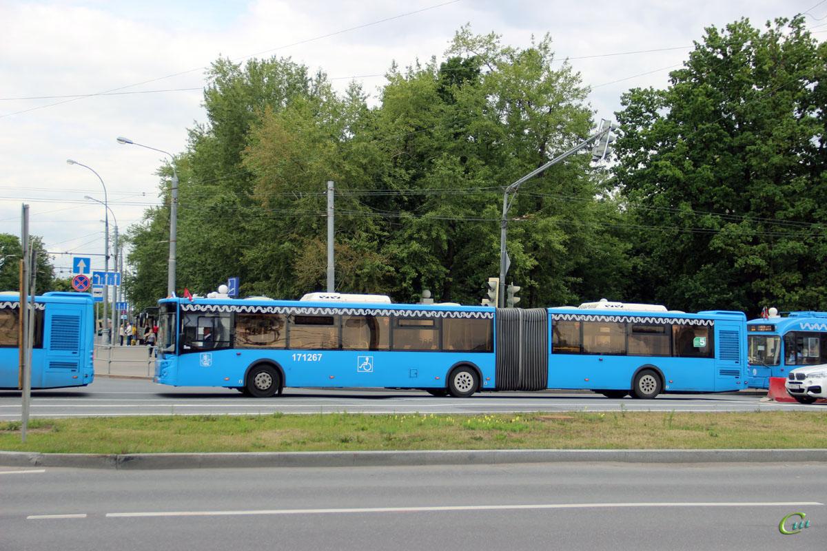 Москва. ЛиАЗ-6213.65 ах277