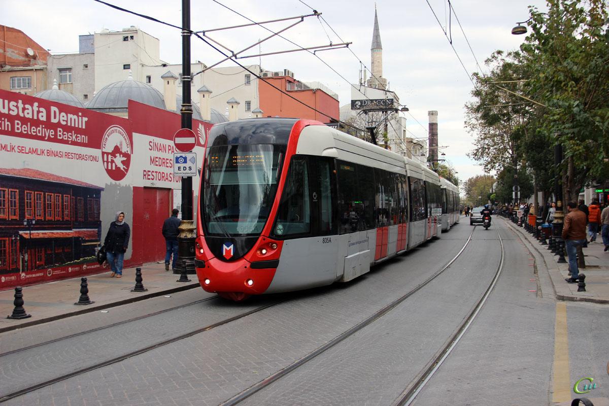 Стамбул. Alstom Citadis 301 №805