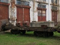 Кирово-Чепецк. Самодельный щеточный очиститель пути
