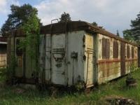 Кирово-Чепецк. Отставленные от эксплуатации пассажирские вагоны