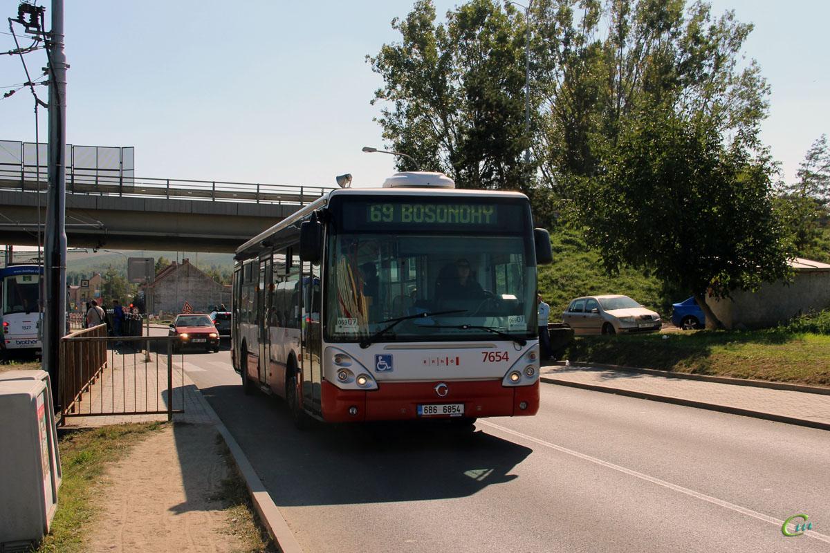 Брно. Irisbus Citelis 12M 6B6 6854