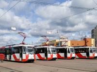 Санкт-Петербург. 71-153 (ЛМ-2008) №1402, 71-152 (ЛВС-2005) №1123, 71-152 (ЛВС-2005) №1111, 71-153 (ЛМ-2008) №1432