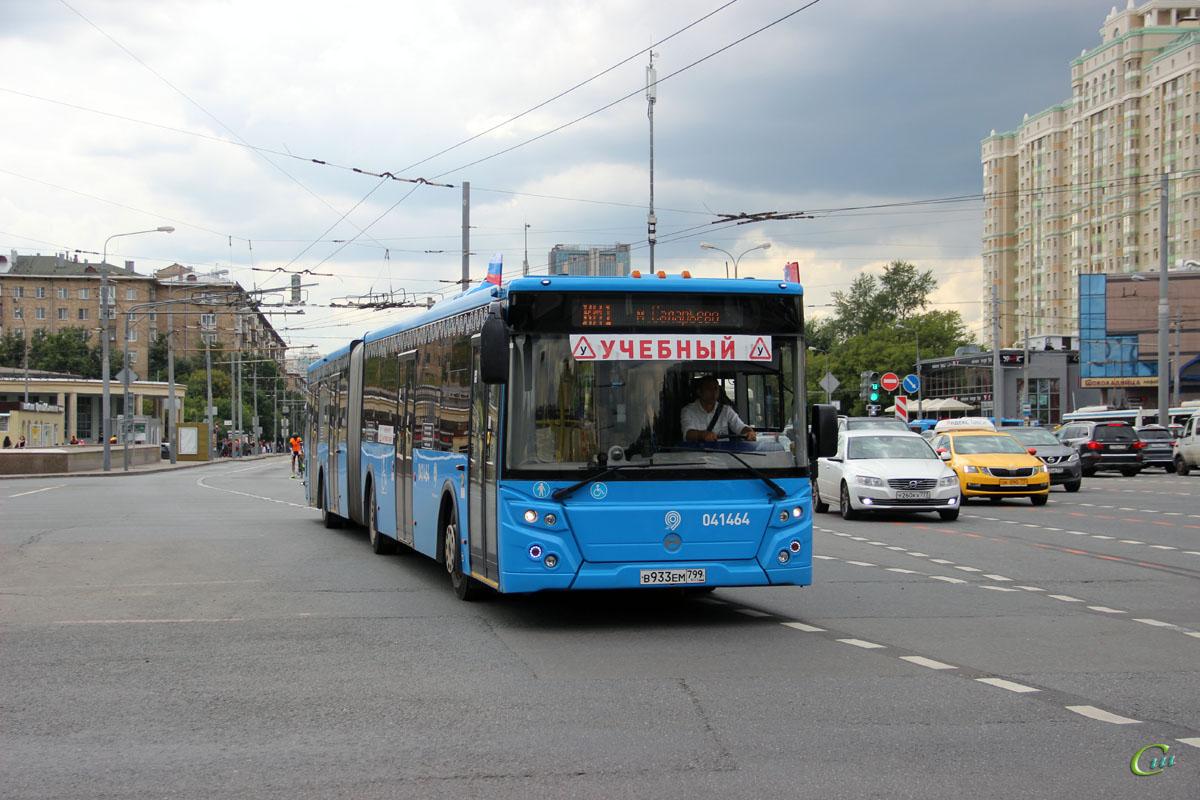 Москва. ЛиАЗ-6213.65 в933ем