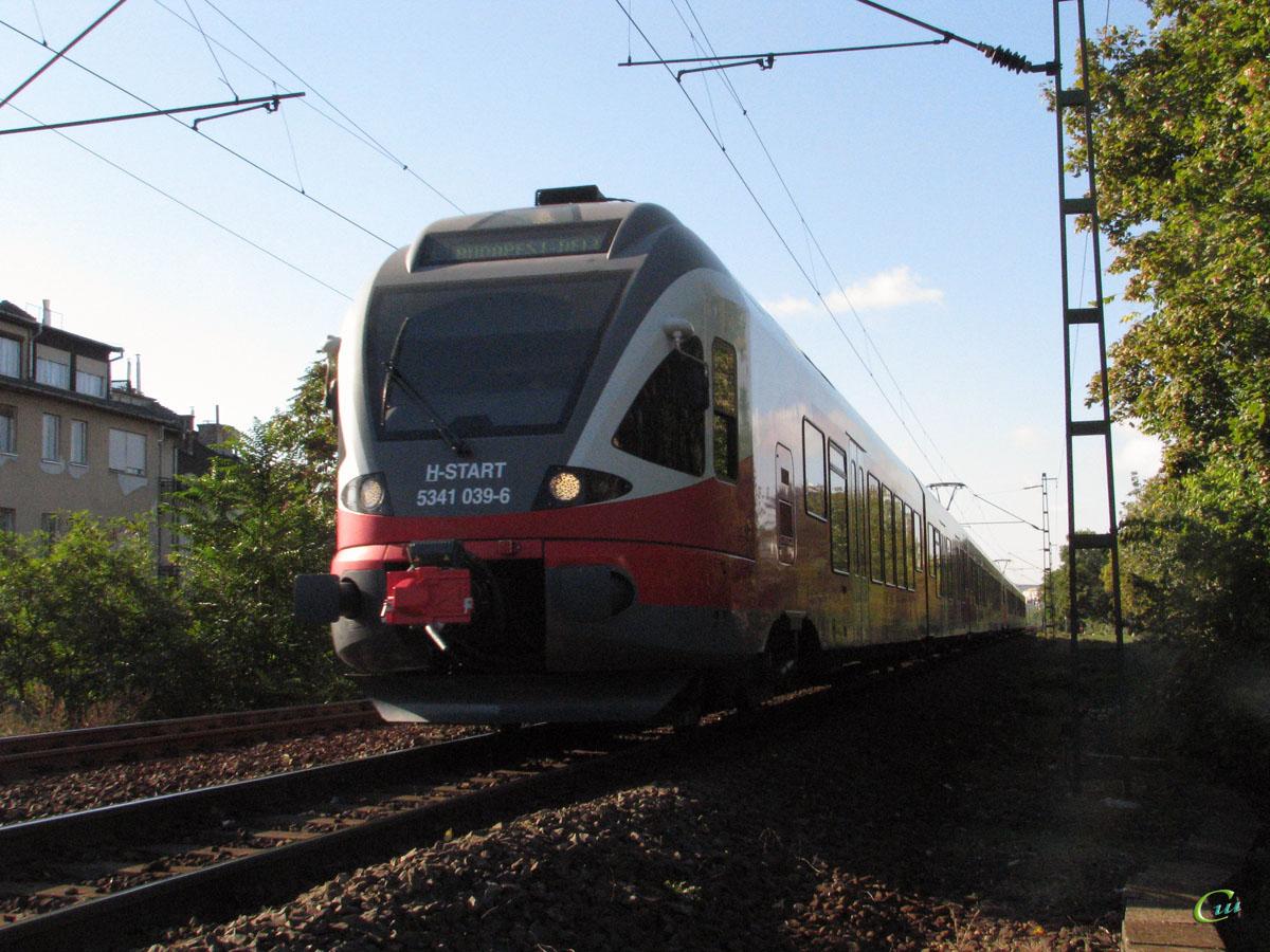 Будапешт. Stadler FLIRT (EMU) № 5341 039-6
