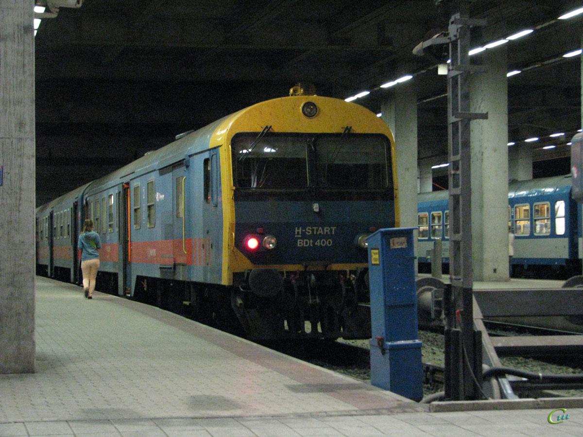 Будапешт. Головной вагон состава BDt 400