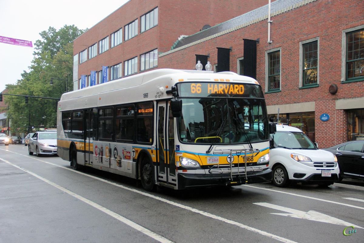 Бостон. New Flyer XDE40 MBT 1868