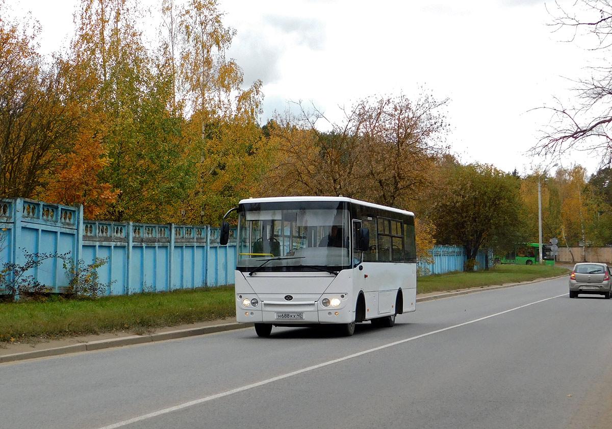 Обнинск. Hyundai County Kuzbass HDU2 н688кх