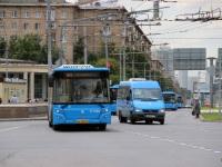 Москва. Луидор-2232 (Mercedes-Benz Sprinter) м844те, ЛиАЗ-6213.65 ах310