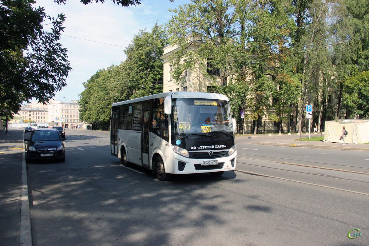 Санкт-Петербург. ПАЗ-320435-04 Vector Next а920ур
