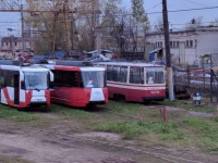 ЛВС-86К №8179, 71-152 (ЛВС-2005) №1105, 71-153 (ЛМ-2008) №1403