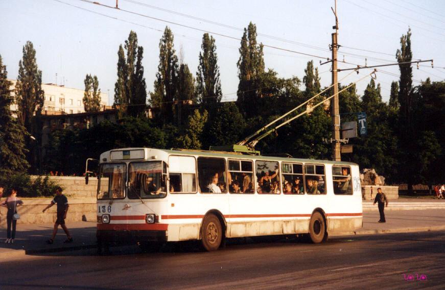 Кременчуг. ЗиУ-682В-012 (ЗиУ-682В0А) №136