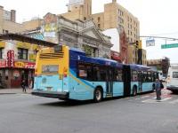 Нью-Йорк. Novabus LFS Artic BA1147
