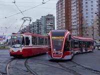 Санкт-Петербург. 71-134А (ЛМ-99АВ) №0505, 71-931М Витязь-М №0118