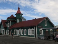 Медвежьегорск. Вокзал станции Медвежья Гора