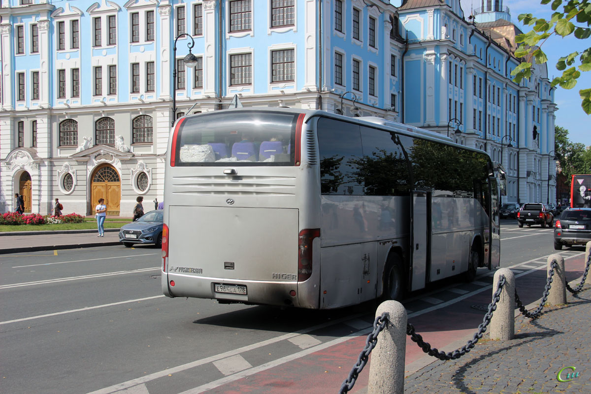 Санкт-Петербург. Higer KLQ6119TQ е964еа