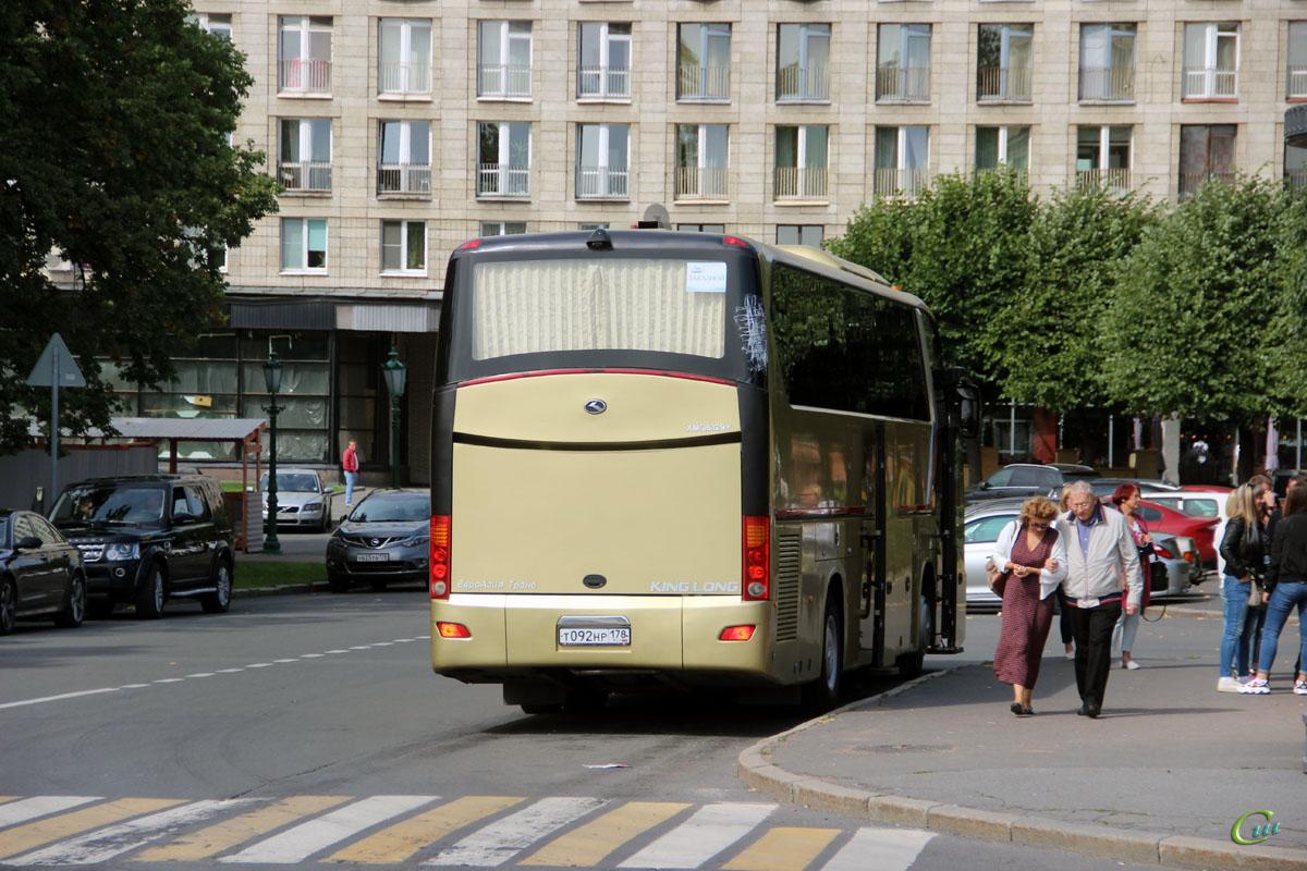 Санкт-Петербург. King Long XMQ6129Y т092нр