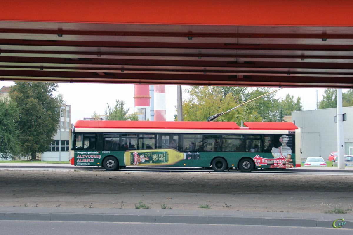 Вильнюс. Solaris Trollino 15 №2689