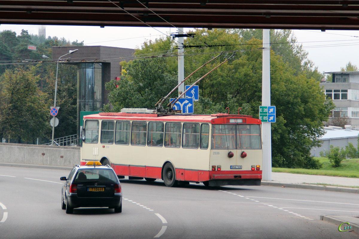 Вильнюс. Škoda 14Tr89/6 №2536