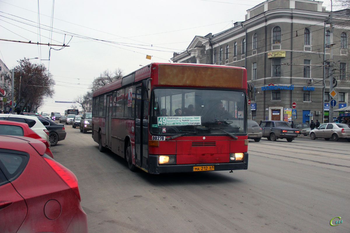 Ростов-на-Дону. Mercedes-Benz O405N ма212