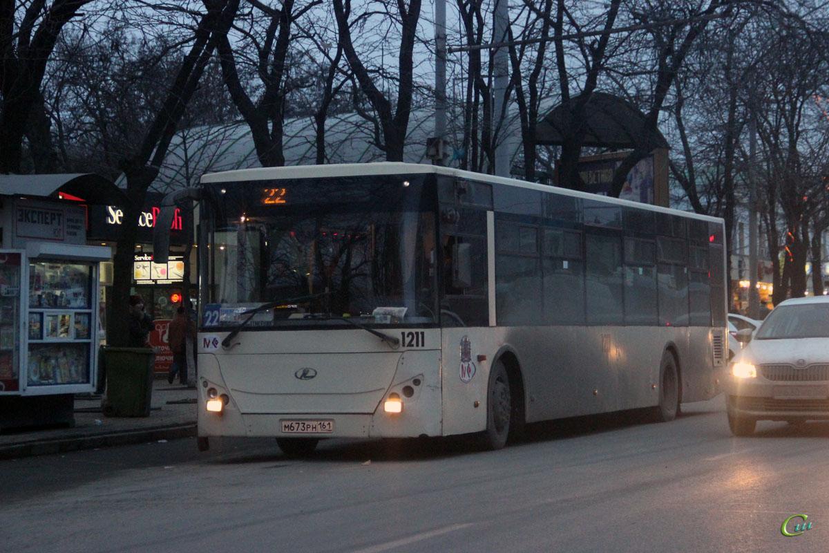 Ростов-на-Дону. РоАЗ-5236 м673рн