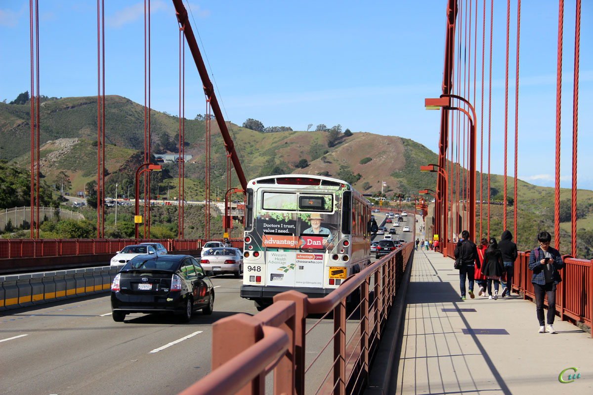 Сан-Франциско. MCI D4500CT 1320956