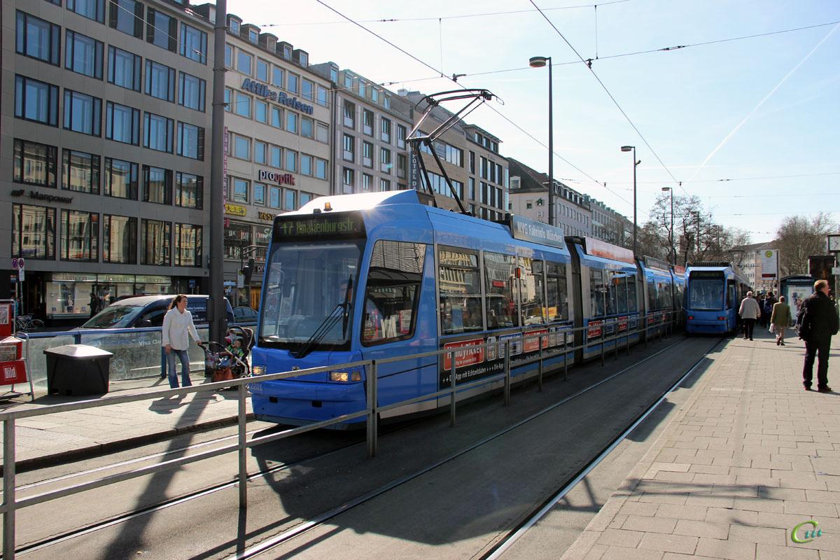Мюнхен. Adtranz R3.3 №2201
