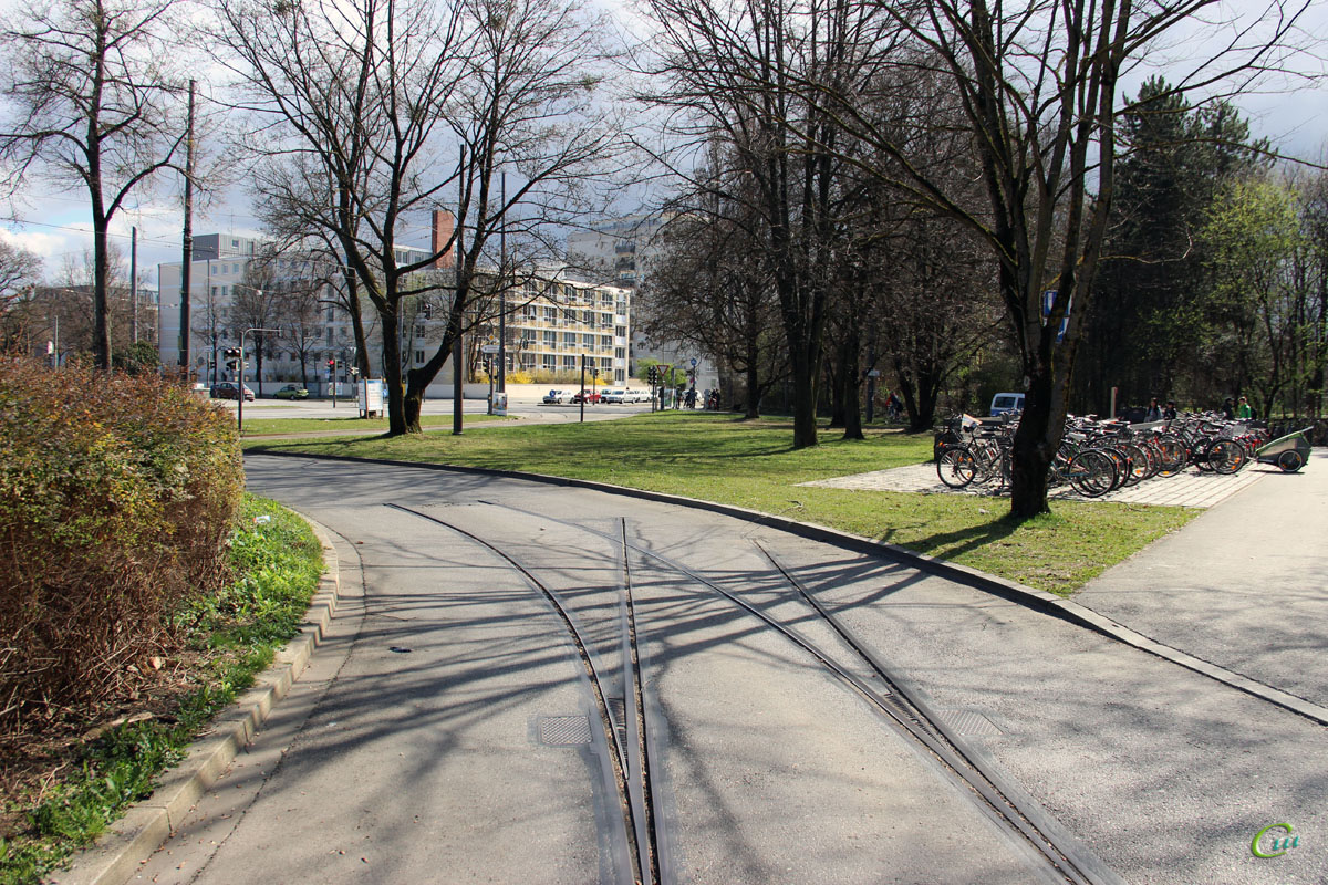 Мюнхен. Разобранные линии