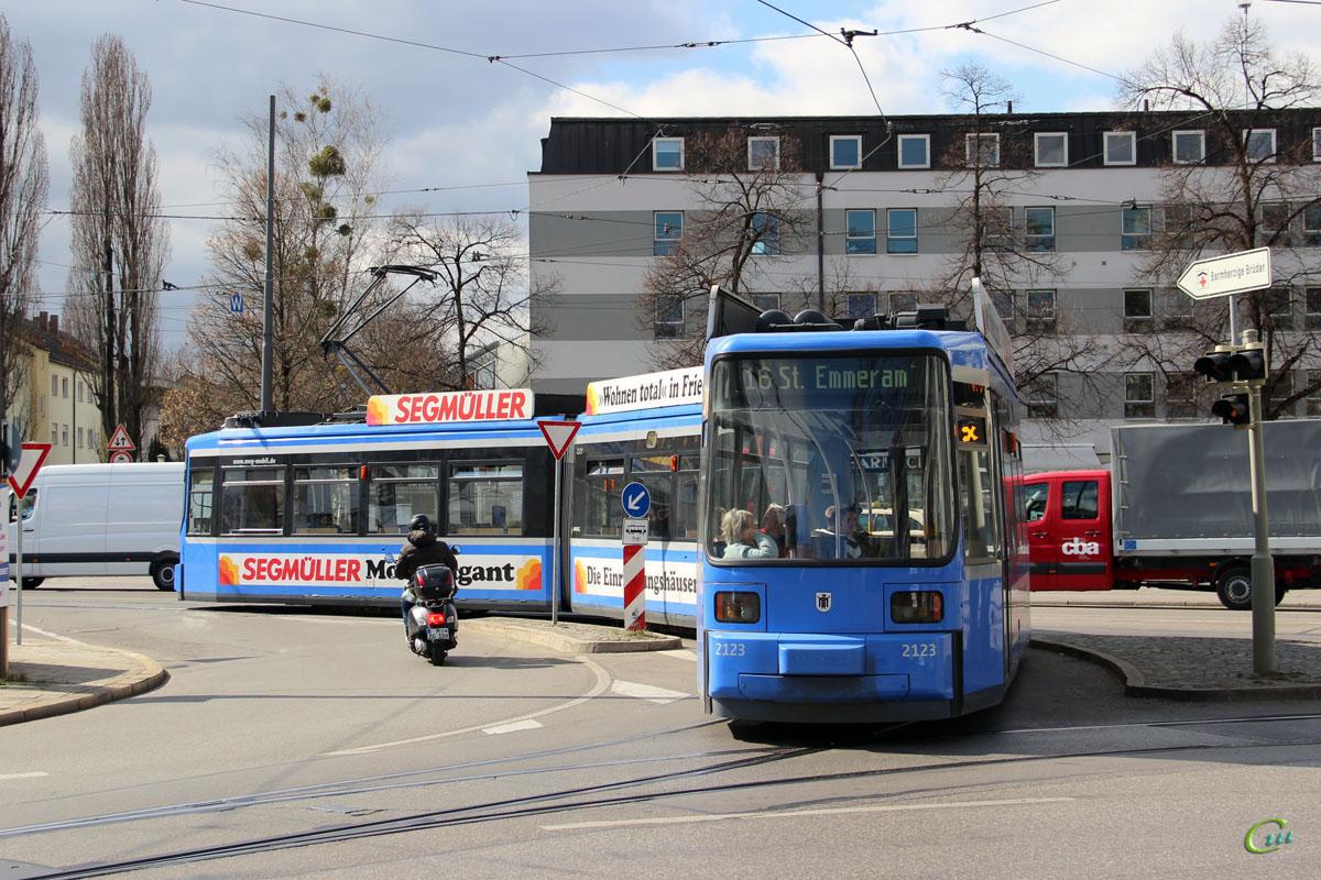 Мюнхен. AEG R2.2 №2123