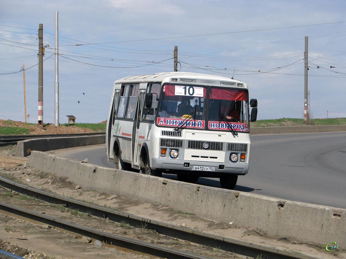 Нижний Новгород. ПАЗ-32054 в412су
