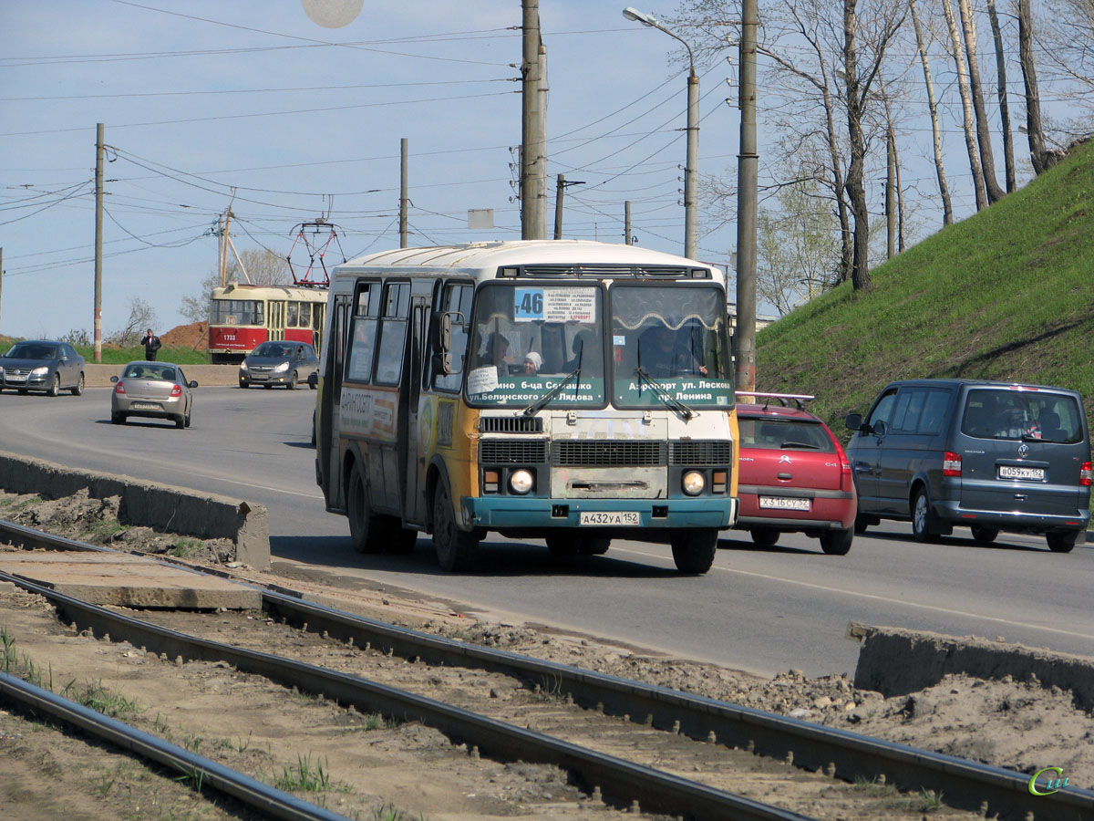 Нижний Новгород. ПАЗ-32054 а432уа
