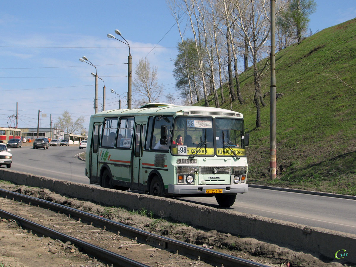 Нижний Новгород. ПАЗ-32054-07 ат201
