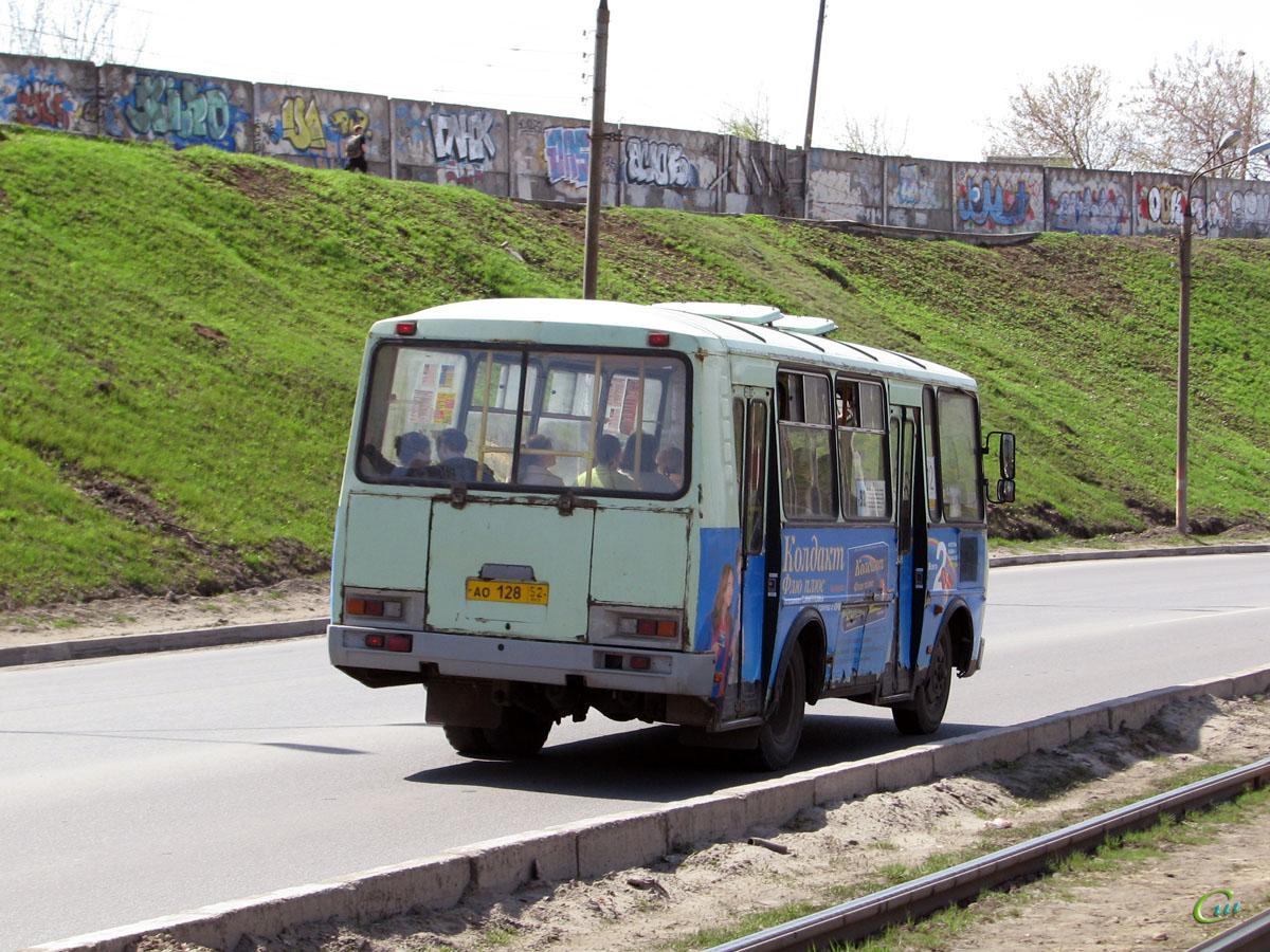 Нижний Новгород. ПАЗ-32054 ао128