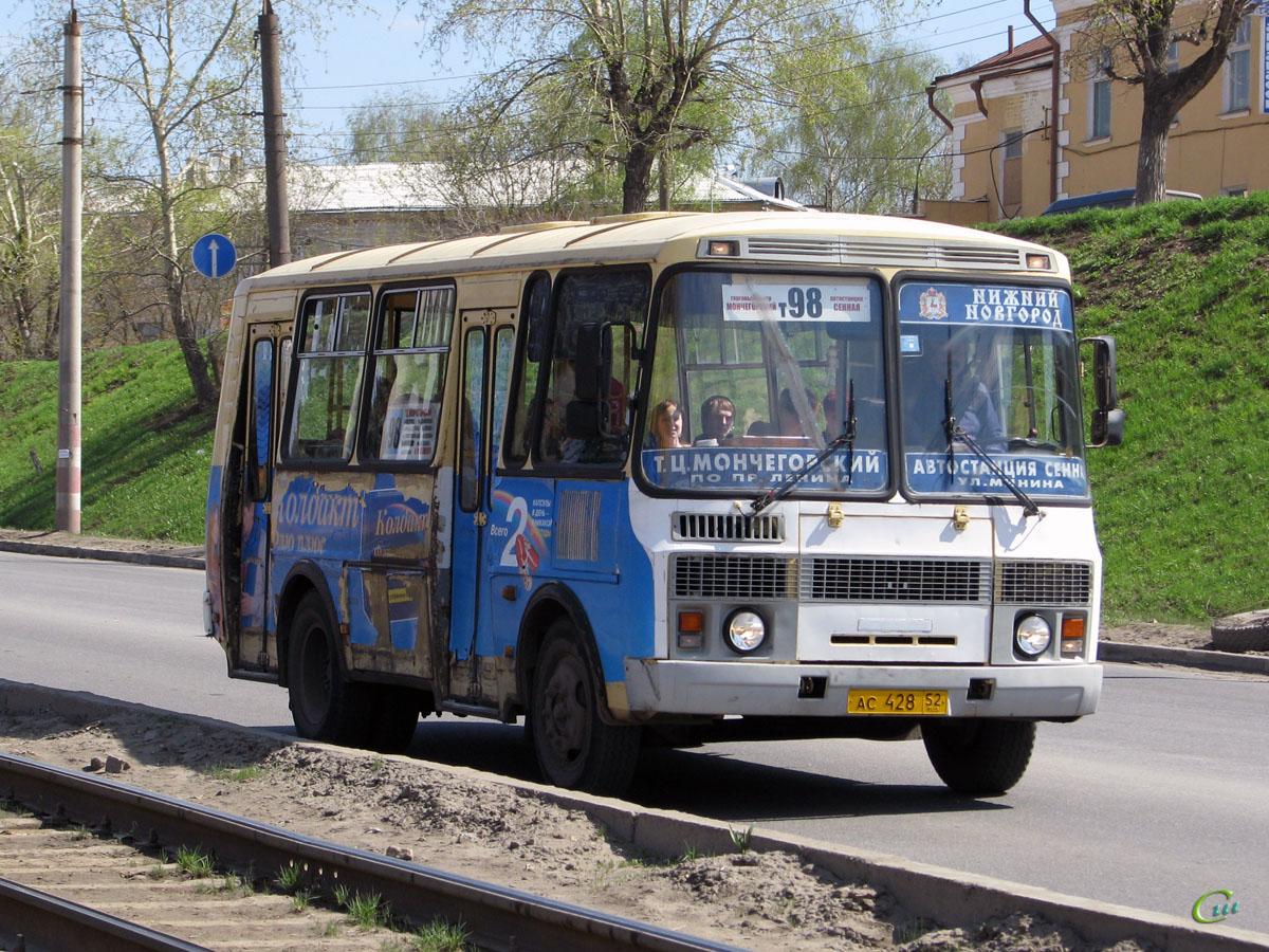 Нижний Новгород. ПАЗ-32054-07 ас428