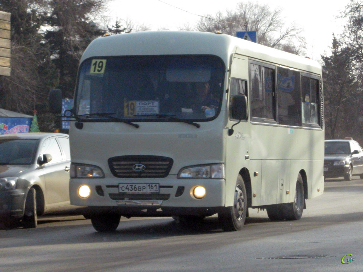 Таганрог. Hyundai County SWB с436вр