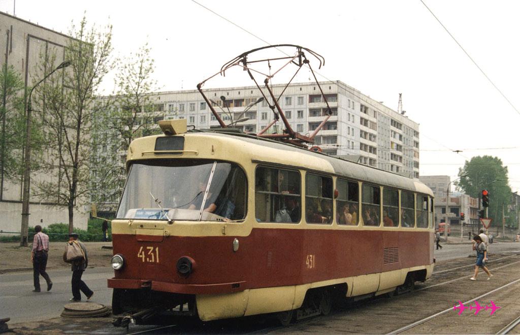 Новокузнецк. Tatra T3SU №431